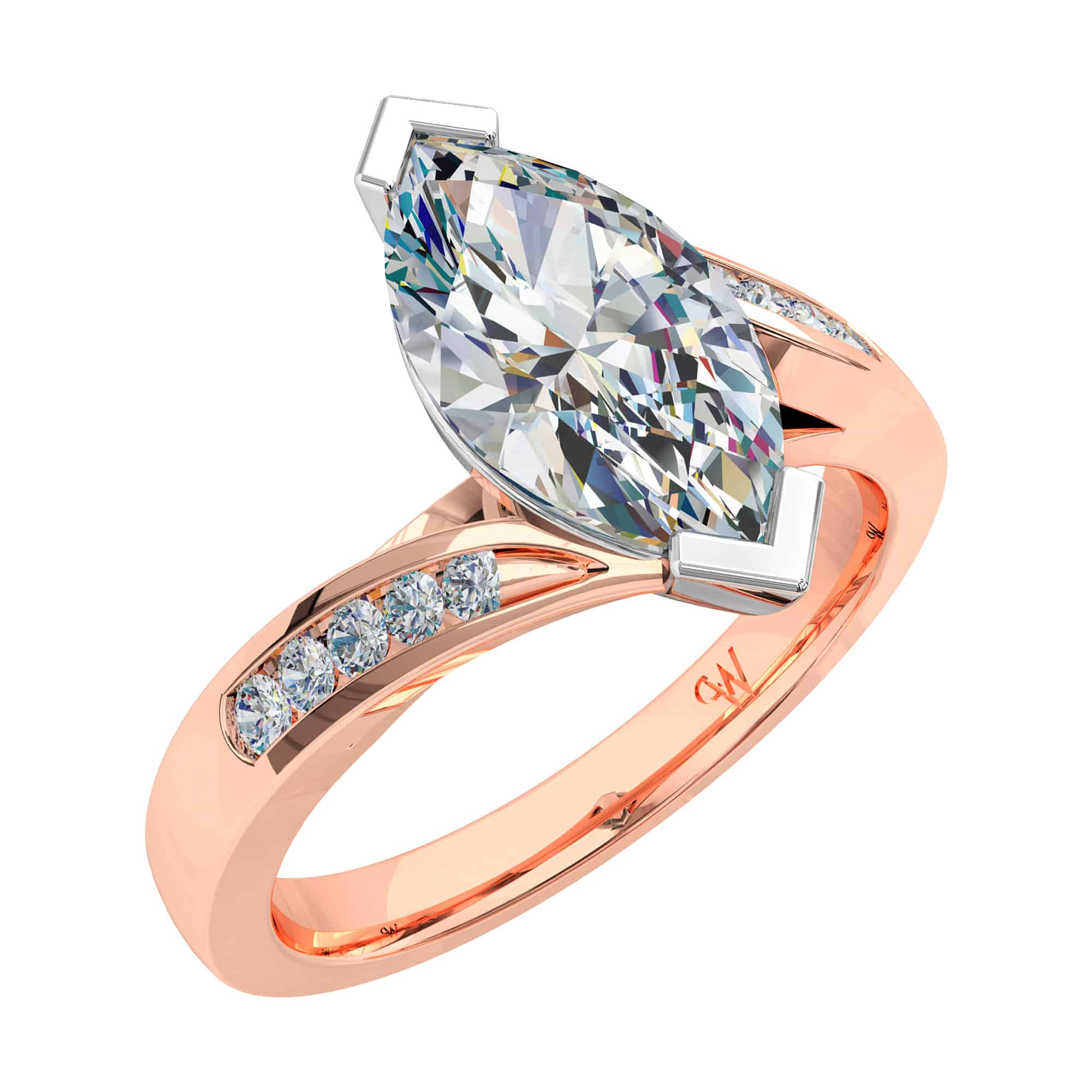 solitaire ring products diamond brilliant engagement francis round jewellery